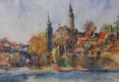 Jüngling Břetislav: Český Krumlov