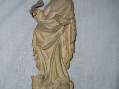Gotická soška - profesionální stará replika