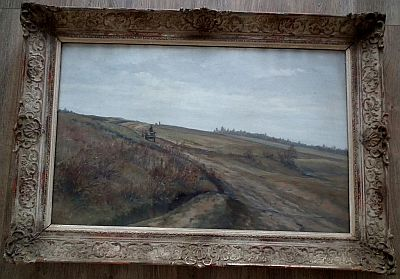 Živný Karel: Krajina s povozem