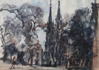Olomouc – kostel sv. Václava