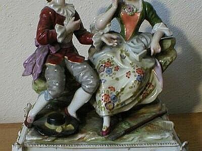 Porcelán – galantní scéna