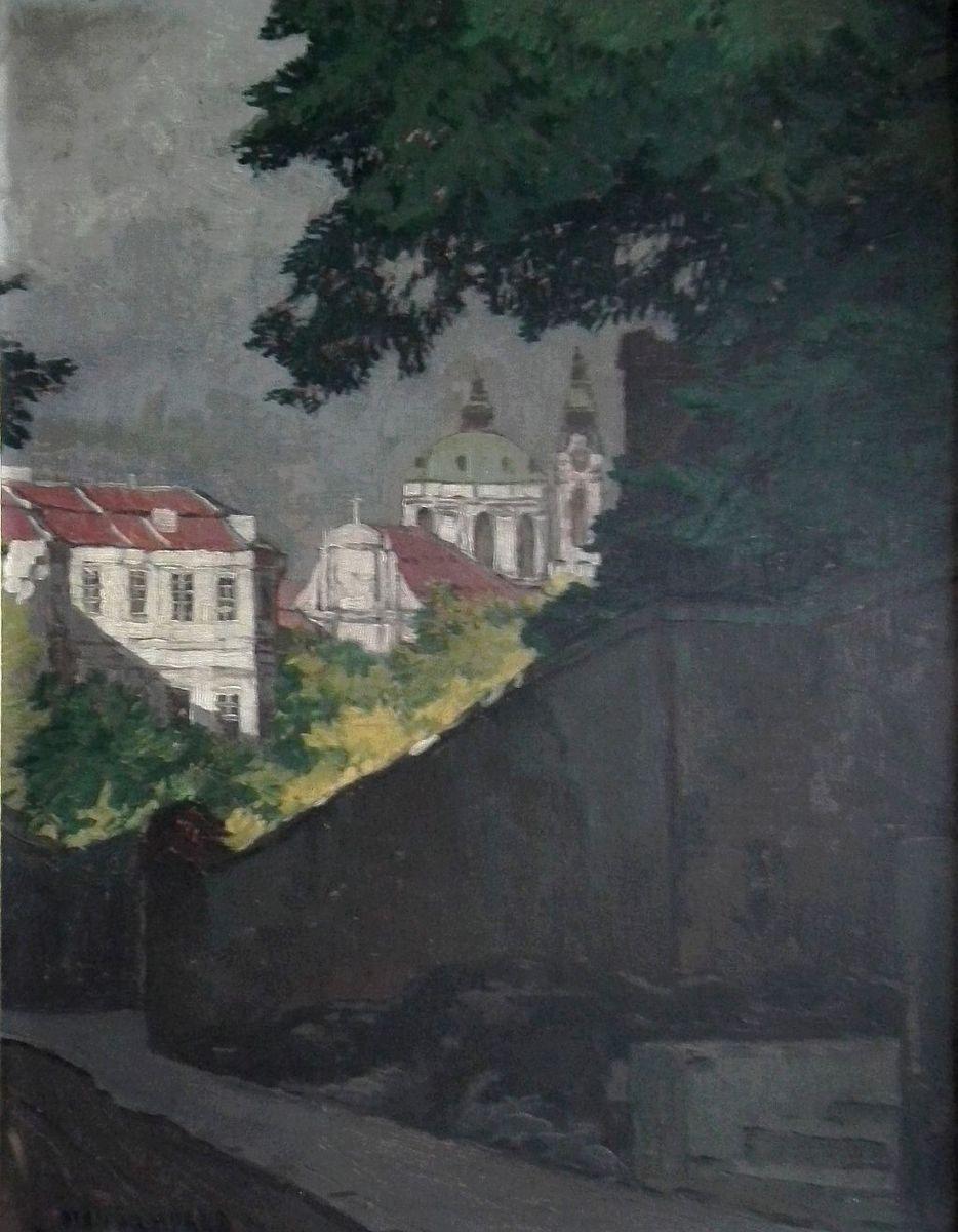 Otakar Hůrka: Sv. Mikuláš v Praze.