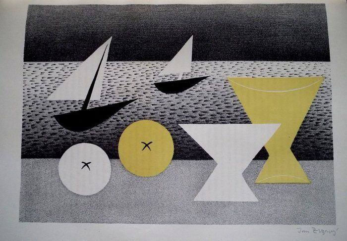 Dílo Jana Zrzavého 1906 – 1940. 2x orig.grafika!!!