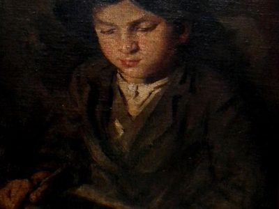 Jan Kojan: Chlapec s psací tabulkou
