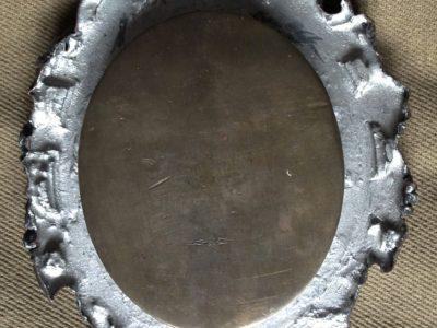 Miniatura Madony - zadní část