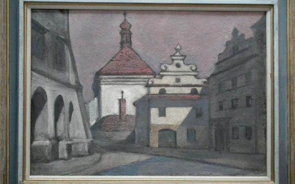Vladimír Ringes: U Hradčanské radnice.