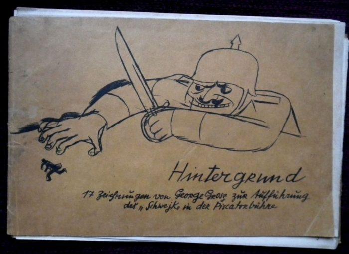 Grosz George: Hintergrund. Malik Verlag Berlin.