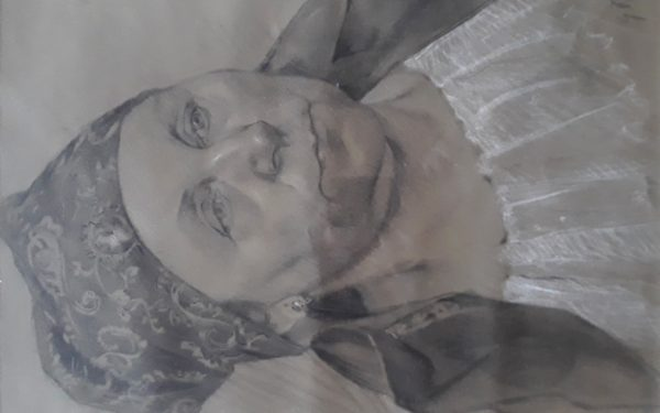 Porš Gustav: Umělcova matka